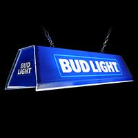 Edge Glow Pool Table Lamp